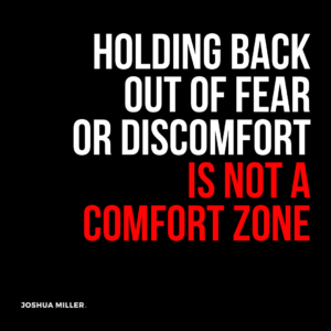 holding back quote josh h miller