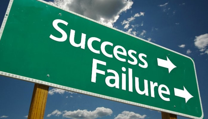 there's no success without failures