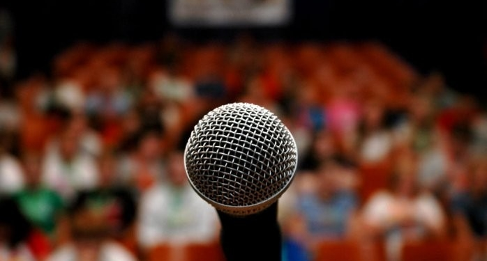 getting over with fear on speaking on public and delivering a good presentation is a plus