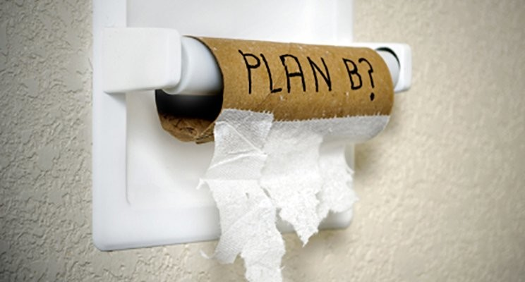 Pause Your Plan B. Stick To Your Plan A.